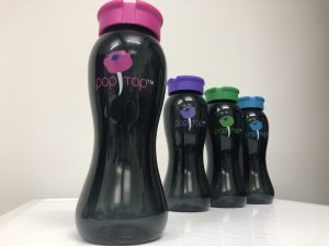 Easy pop top water bottle_politepackaging