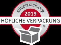 Logo Höfliche Verpackung silber 2019